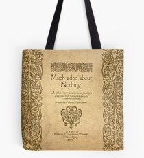 Shakespeare. Much adoe about nothing, 1600 Bolsa de tela
