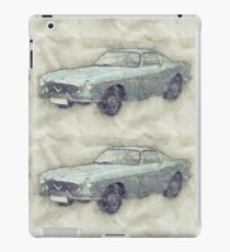 Volvo P1800 iPad Case/Skin