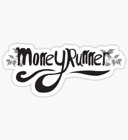 Moneyrunner T-shirt 6 Sticker