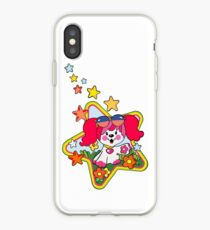 Retro Pink Poochie 80s iPhone Case