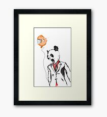 Mad Panda Framed Print
