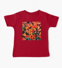 Bright Red Tulips of Istanbul Baby Tee