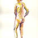 Life session nude 1 by J-C Saint-Pô