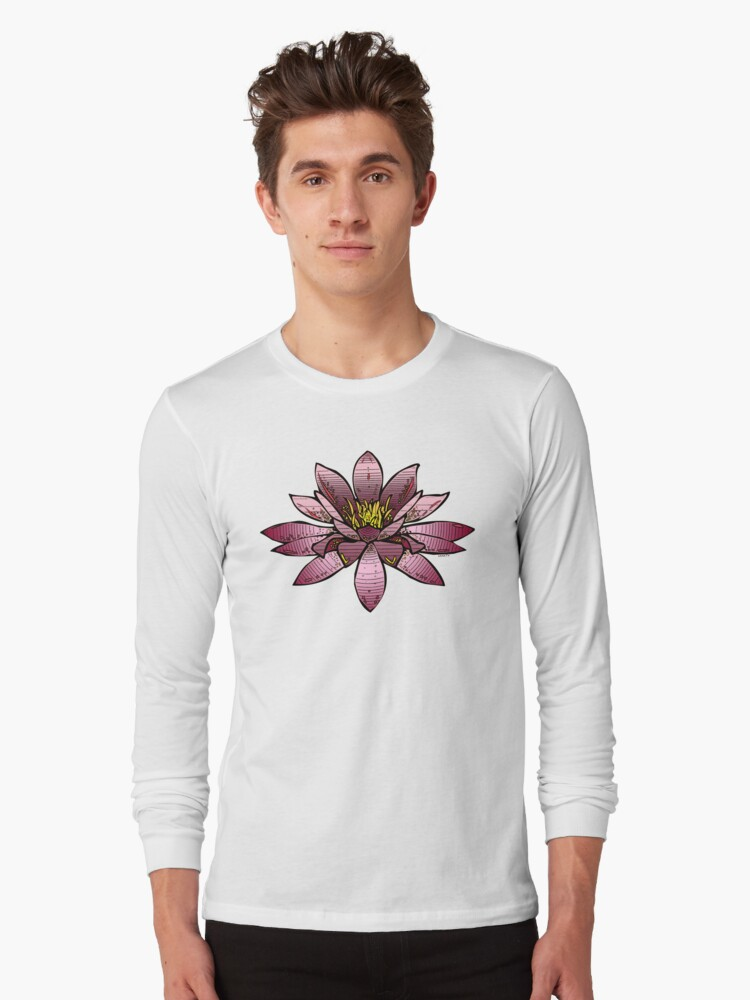 Plum waterlily by saneTV