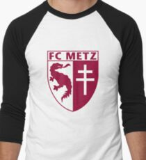 fc metz Men's Baseball ¾ T-Shirt