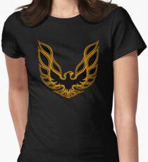 Pontiac Firebird Graphic Logo  Women's Fitted T-Shirt