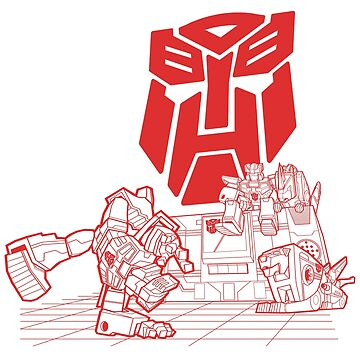 Autobot Breakdance by SW-Illustration