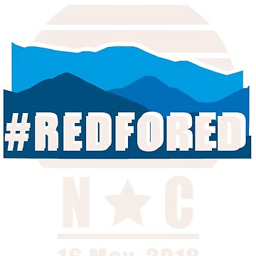 Red for Ed North Carolina NC by purple-xanax