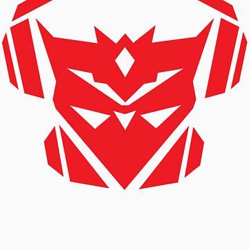 Teknicianz Logo- Red by theteknicianz