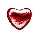 Cracked Red Heart by Yvonne Carsley
