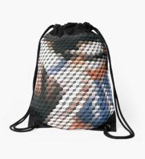 Smooth Criminal Qbert Drawstring Bag