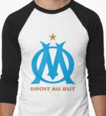 olympique marseille Men's Baseball ¾ T-Shirt