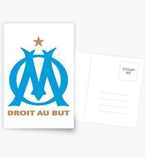 olympique marseille Postcards