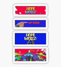 Jhope - HOPE WORLD Sticker