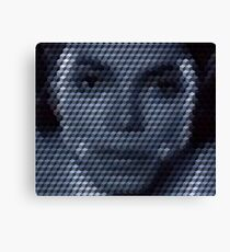 Michael Jackson Bad Cuboid Canvas Print