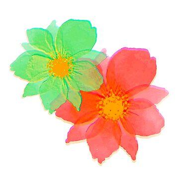 Les Fleurs 2 by Rosh