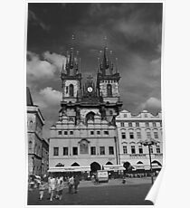 The Church of Our Lady before Teyn No. I Poster