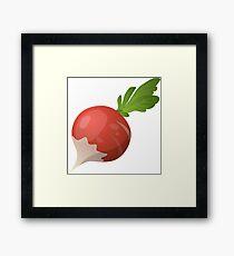 Radish vegetables Framed Print