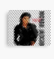 Michael Jackson Bad Cuboid 2 Metal Print