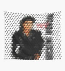 Michael Jackson Bad Cuboid 2 Wall Tapestry