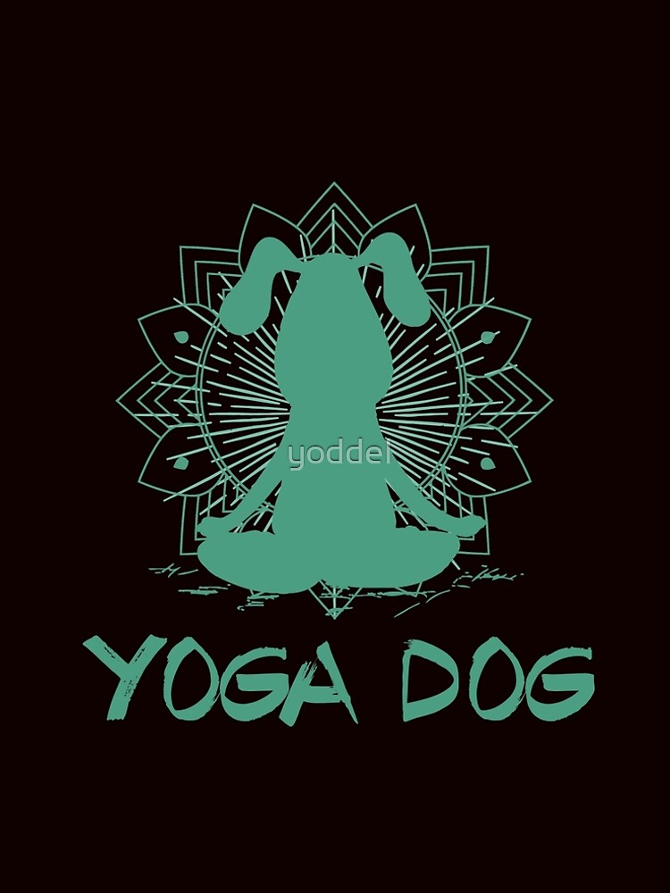 Yoga dog by yoddel