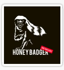 Honey Badger Don't Give A Shit Sticker