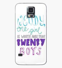 """""""Wendy, one girl is worth more than twenty boys."""" Case/Skin for Samsung Galaxy"""