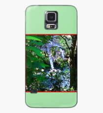Moutain Pool and Waterfalls Case/Skin for Samsung Galaxy