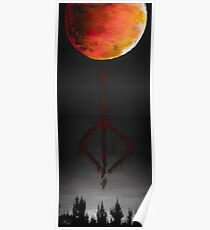 Paleblood - Bloodborne Fan Art painting Poster