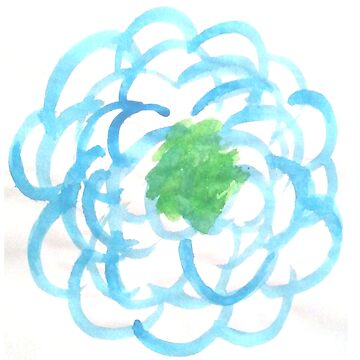 Blue Petal Flower by Hot-Chocolate