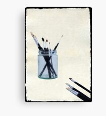 Blank Canvas | Black Canvas Print
