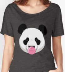 Panda and bubble gum Women's Relaxed Fit T-Shirt