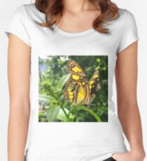 """An Angel's Wings"", Photo / Digital Painting Women's Fitted Scoop T-Shirt"