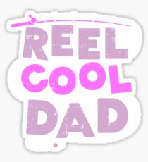 Reel Cool Dad Gift Sticker