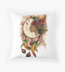 Catches Africain dreams Throw Pillow