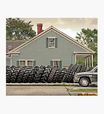 Louisiana Tires Photographic Print