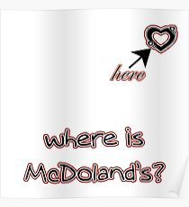 MCDONALD'S Poster