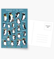 Penguins of the World Postcards