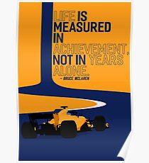 "2018 McLaren F1 ""Achievement"" Poster"