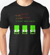 Eat. Sleep. Kerbal Space Program. T-Shirt