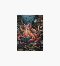 Grandpa Octopus Art Board Print