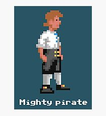 Mighty Pirate V2 Photographic Print