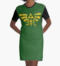 TRI FORCE Graphic T-Shirt Dress