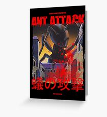 Ant Attack Greeting Card