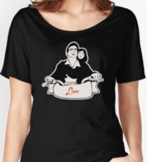 Love (B & W) Women's Relaxed Fit T-Shirt