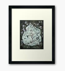 The Sleepers in that Quiet Earth Framed Print