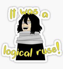 Aizawa Logical Ruse Sticker