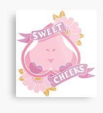 Sweet Cheeks Metal Print