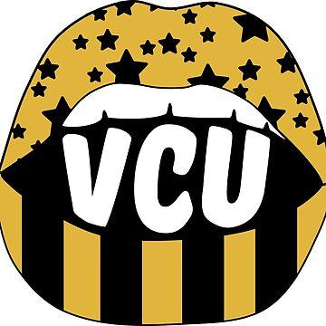 VCU Lips by stickybad