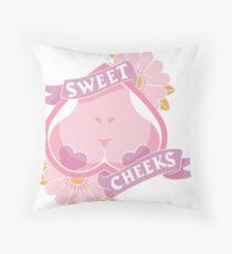 Sweet Cheeks Throw Pillow